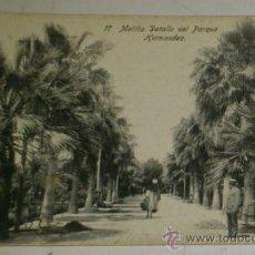 Postales: ANTIGUA POSTAL DE MELILLA - N. 17 - DETALLE DEL PARQUE HERNANDEZ - EDICION. BOIX HERMANOS. Lote 32618618