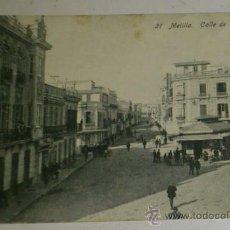 Postales: ANTIGUA POSTAL DE MELILLA - N. 21 - CALLE DE O`DONNELL - EDICION. BOIX HERMANOS. Lote 32618640