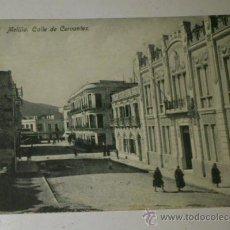 Postales: ANTIGUA POSTAL DE MELILLA - N. 23 - CALLE DE CERVANTES- EDICION. BOIX HERMANOS. Lote 32618646