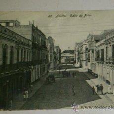 Postales: ANTIGUA POSTAL DE MELILLA - N. 26-CALLE DE PRIM, EDICION. BOIX HERMANOS. Lote 32618655