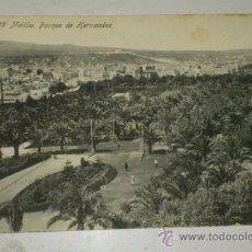 Postales: ANTIGUA POSTAL DE MELILLA - N. 29, PARQUE DE HERNANDEZ, EDICION. BOIX HERMANOS. Lote 32618661