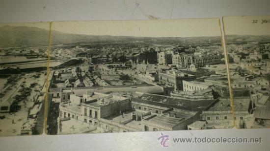 Postales: ANTIGUA POSTAL (4) DE MELILLA - N. 32, VISTA GENERAL DE MELILLA, EDICION. BOIX HERMANOS - Foto 5 - 32618664