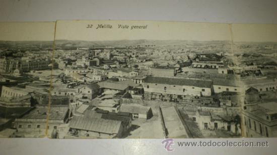 Postales: ANTIGUA POSTAL (4) DE MELILLA - N. 32, VISTA GENERAL DE MELILLA, EDICION. BOIX HERMANOS - Foto 4 - 32618664