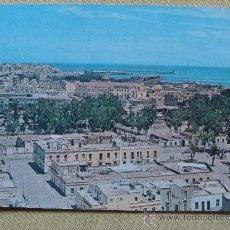 Postales: POSTAL DE MELILLA. AÑOS 40 - 50 VISTA PARCIAL BARRIO TESORILLO DESDE BARRIO VICTORIA. 747. . Lote 32680782