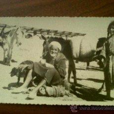 Postales: POSTAL TROQUELADA MELILLA-CIRCULADA 1953. Lote 32692956