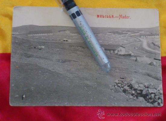 MELILLA NADOR. VISTA GENERAL LA RECONQUISTA. FOTOTIPIA CASTAÑEIRA Y ALVAREZ, MADRID 14X9 (Postales - España - Melilla Antigua (hasta 1939))