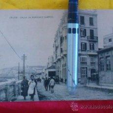 Postales: CEUTA ,CALLE DE MARTINEZ CAMPOS , FOTOTIPIA DE HAUSER Y MENET MADRID ,14X9. Lote 32788755