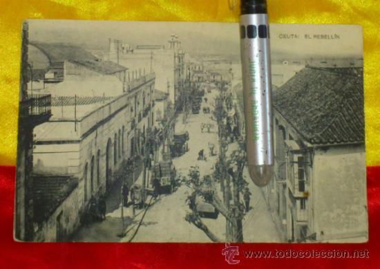 CEUTA ,EL REBELLIN , FOTOTIPIA DE HAUSER Y MENET MADRID ,14X9 (Postales - España - Melilla Antigua (hasta 1939))
