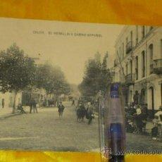 Postales: CEUTA ,EL REBELLIN Y CASINO ESPAÑOL , FOTOTIPIA DE HAUSER Y MENET MADRID ,14X9. Lote 32788828