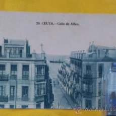 Postales: POSTAL NUM 29, CEUTA, CALLE DE ALFAU ,14X9, ESCRITA DEL 3-1-1925. Lote 32788947