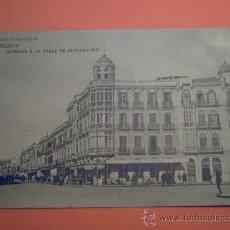 Postales: MELILLA - ENTRADA A LA CALLE DE ALFONSO XIII - EDICIÓN POSTAL-EXPRES - SIN CIRCULAR. Lote 33799378