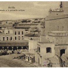 Postales: MELILLA, ENTRADA A LA POBLACION ANTIGUA.EDICION MV POSTAL EXPRESS . Lote 33870364