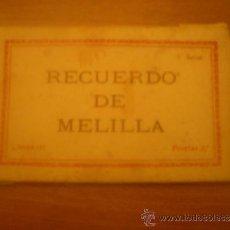 Postales: ANTIGUO LIBRITO 10 POSTALES RECUERDO DE MELILLA. L. ROISIN .FOT. Lote 33842256