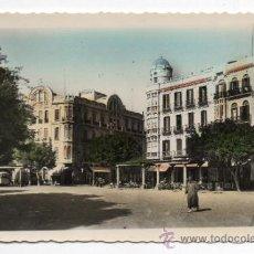 Postales: MELILLA. PLAZA DE ESPAÑA. ESCRITA EL 15 DE JULIO DE 1961.. Lote 34436828