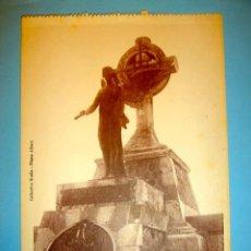 Cartoline: POSTAL MELILLA DETALLE ARQUITECTONICO DEL MAUSOLEO A LOS HEROES DE LA CAMPAÑA. Lote 34546777