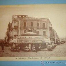 Postales: POSTAL MELILLA CALLES DE ALFONSO XIII Y O´DONELL. Lote 34546899