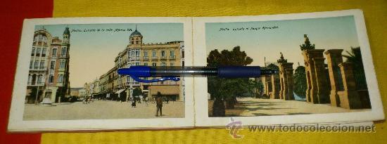 Postales: librillo 20 postales y vista general de 4 postales, EDICION BOIX HERMANOS.- recuerdo de melilla - Foto 3 - 35320756