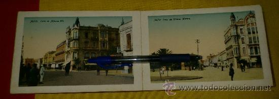 Postales: librillo 20 postales y vista general de 4 postales, EDICION BOIX HERMANOS.- recuerdo de melilla - Foto 5 - 35320756