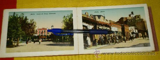 Postales: librillo 20 postales y vista general de 4 postales, EDICION BOIX HERMANOS.- recuerdo de melilla - Foto 6 - 35320756