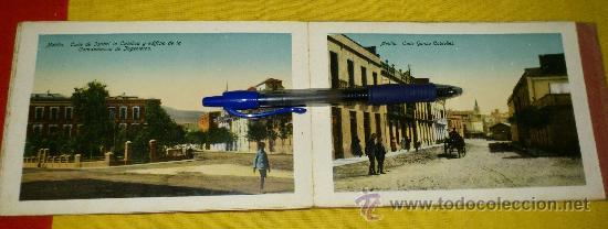 Postales: librillo 20 postales y vista general de 4 postales, EDICION BOIX HERMANOS.- recuerdo de melilla - Foto 8 - 35320756