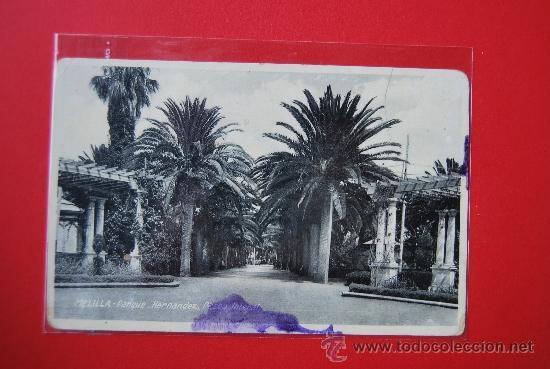 POSTAL DE MELILLA: PARQUE HERNANDEZ (Postales - España - Melilla Moderna (desde 1940))