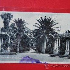 Postales: POSTAL DE MELILLA: PARQUE HERNANDEZ. Lote 35761707