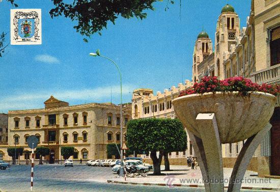 MELILLA, PLAZA DE ESPAÑA AÑO 1971 (Postales - España - Melilla Moderna (desde 1940))