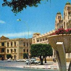 Postales: MELILLA, PLAZA DE ESPAÑA AÑO 1971. Lote 36424778