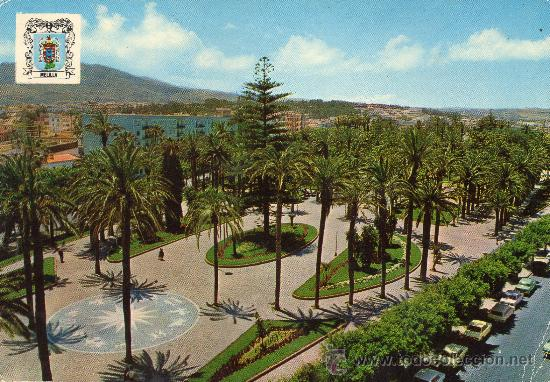 MELILLA, VISTA AEREA PARQUE HERNANDEZ 1973 (Postales - España - Melilla Moderna (desde 1940))
