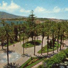Postales: MELILLA, VISTA AEREA PARQUE HERNANDEZ 1973. Lote 36424893