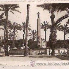 Postales: ANTIGUA POSTAL 17 MELILLA PLAZA DE ESPAÑA EDC BOIX HNOS ESCRITA 1952. Lote 36886432