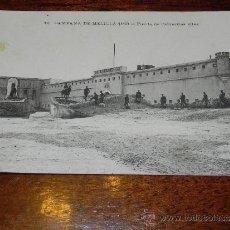 Postales: POSTAL DE MELILLA, CAMPANA DE MELILLA 1909, RELOJ DE LA PLAZA, 3 SIN CIRCULAR. Lote 37583565