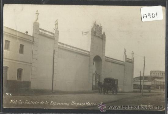 MELILLA - EDIFICIO DE LA EXPOSICION HISPANO MARROQUI -FOTOGRAFICA - POSTAL EXPRES - (17401) (Postales - España - Melilla Antigua (hasta 1939))