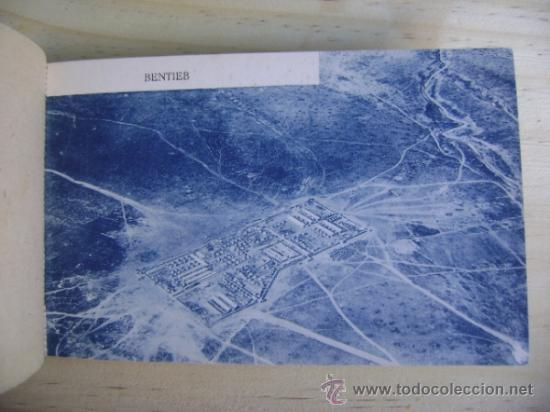 Postales: Librillo o estuche, bloc con 10 postales Melilla y su campo de aviación, M Arribas - Foto 3 - 38956976