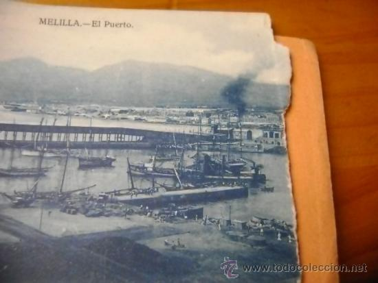 Postales: Librillo o estuche, bloc con 10 postales Melilla y su campo de aviación, M Arribas - Foto 8 - 38956976