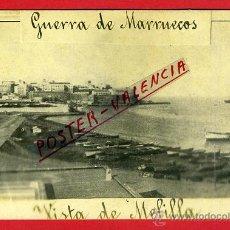 Postales: POSTAL VISTA MELILLA , FOTOGRAFICA , GUERRA DE MARRUECOS , ORIGINAL , P90327. Lote 40032301