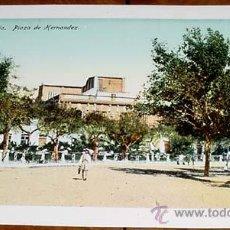 Postales: ANTIGUA POSTAL MELILLA - PLAZA DE HERNANDEZ - NO CIRCULADA - ED. BOIX HERMANOS.. Lote 39519692