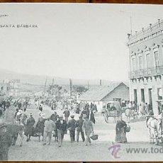 Postales: ANTIGUA POSTAL DE MELILLA - CALLE DE SANTA BARBARA - NO CIRCULADA - ED. POSTAL-EXPRES.. Lote 39520501