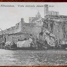 Postais: ANTIGUA POSTAL DE PEÑON DE ALHUCEMAS - MELILLA - ED. BOIX HERMANOS - NO CIRCULADA.. Lote 39547167
