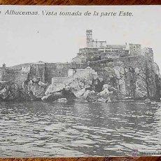 Postais: ANTIGUA POSTAL DE PEÑON DE ALHUCEMAS - MELILLA - ED. BOIX HERMANOS - NO CIRCULADA.. Lote 39547176