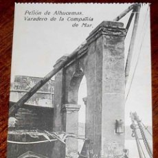 Postais: ANTIGUA POSTAL DE PEÑON DE ALHUCEMAS - MELILLA - VARADERO DE LA COMPAÑIA DEL MAR -ED. BOIX HERMANOS . Lote 39547177