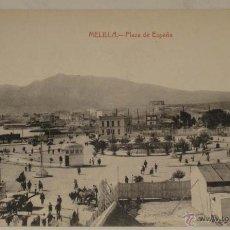 Postales: ANTIGUA POSTAL DE MELILLA - PLAZA DE ESPAÑA - NO CIRCULADA - ED. BOIX HERMANOS.. Lote 39548787
