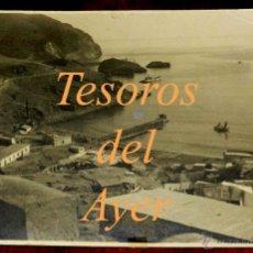 Postales: ANTIGUA FOTOGRAFIA ORIGINAL GRANDE DE LA CALA DEL QUEMADO, ALHUCEMAS, GUERRA DEL RIF, CAMPAÑA DE MAR. Lote 39611405