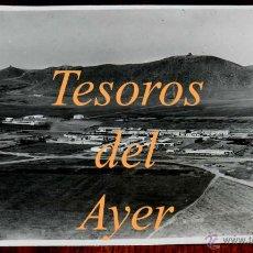 Postales: ANTIGUA FOTOGRAFIA DE LA GUERRA DEL RIF, MELILLA, ZOCO DE TISTUTIN, CON SELLO EN ROJO DEL AERODROMO . Lote 39611409