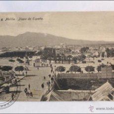 Postales: POSTAL 6 MELILLA: PLAZA DE ESPAÑA - EDICIÓN BOIX HERMANOS - SIN CIRCULAR. Lote 40981426