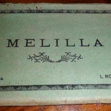 Postales: MELILLA. 10 VISTAS. L. ROISIN FOT. 9X14CMS EN BLANCO Y NEGRO. Lote 41391617