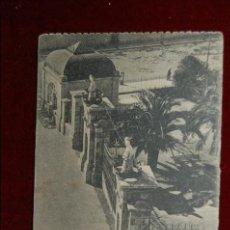 Postales: ANTIGUA POSTAL DE MELILLA. ENTRADA AL PARQUE HERNANDEZ. SIN CIRCULAR. Lote 42509209
