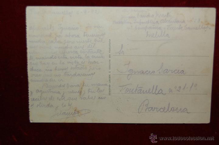 Postales: ANTIGUA POSTAL DE MELILLA. BARRIO INDUSTRIAL. EDICIÓN POSTAL EXPRES. CIRCULADA - Foto 2 - 42509384