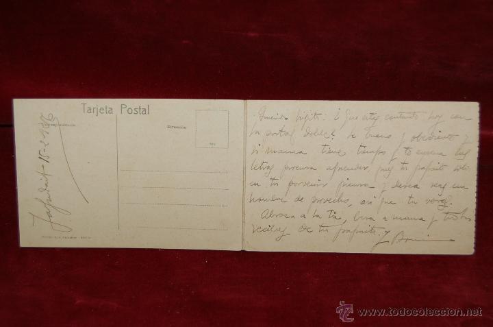 Postales: ANTIGUA POSTAL DE MELILLA. VISTA GENERAL DE LA PLAZA DE ESPAÑA. ED. BOIX HERMANOS. ESCRITA - Foto 2 - 42515987