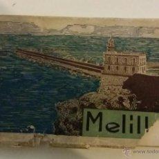 Cartoline: MELILLA. CUADERNILLO DE 34 POSTALES. COMPLETO. L. ROISIN. HACIA 1935. Lote 42580663